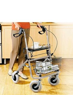 Four Wheel Indoor And Outdoor Rollator