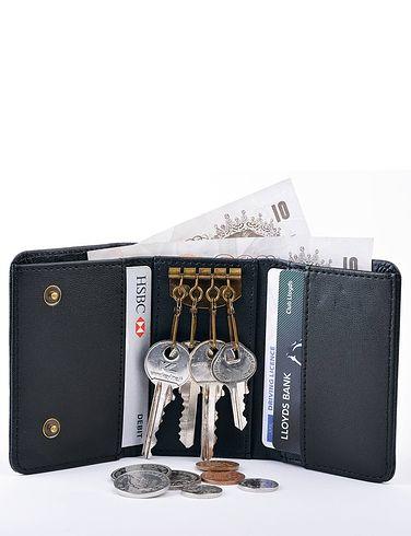Leather Keycase Wallet
