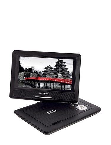 Akai Portable DVD Player