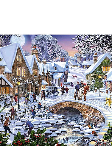 Summer Days and Snowflakes Jigsaw