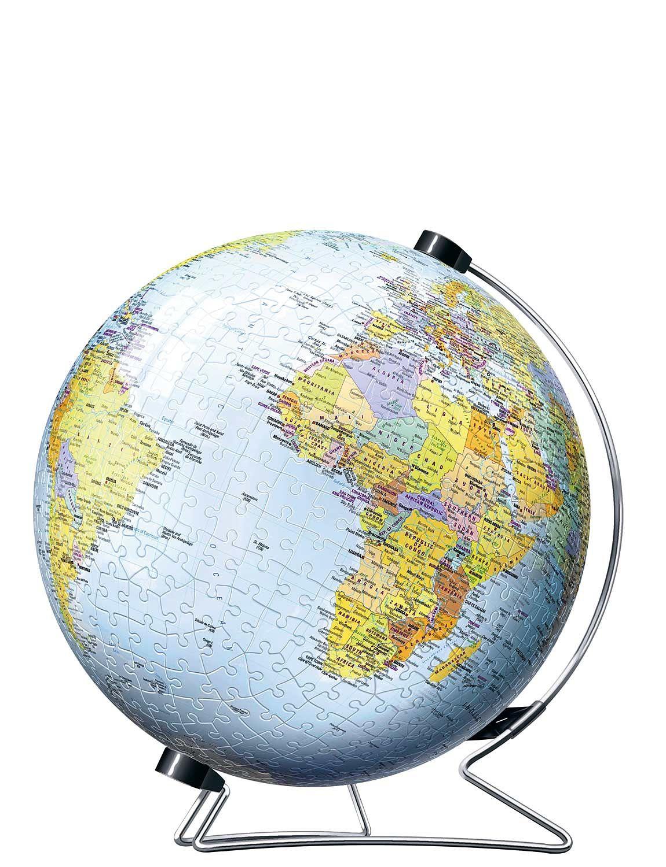 Snap-Fit 3D Puzzle - Globe