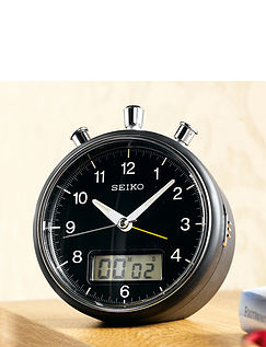 Seiko Slient Sweep Alarm Clock