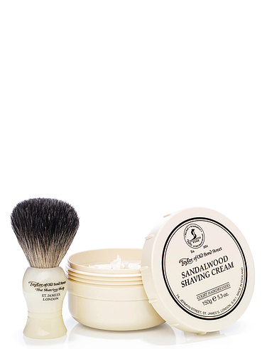 Taylor Of Old Bond Street Sandalwood Shaving Set