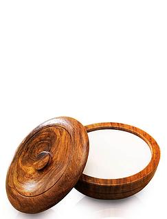 Sandalwood Shaving Bowl and Sandalwood Soap