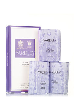 Yardley Soap Gift Set - Lavender
