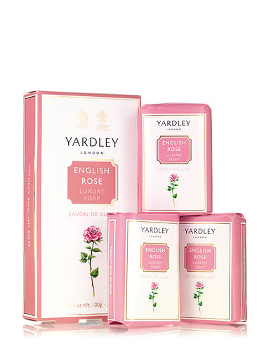 Yardley Soap Gift Set- English Rose