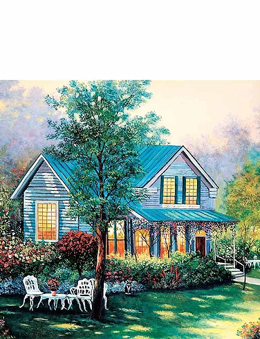 Hideaway House  Boxed Set Of 4 x 1000 Pc Jigsaw Puzzles