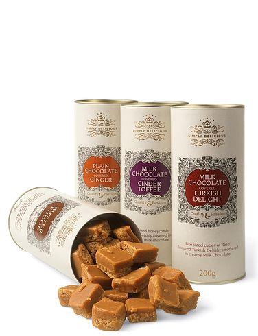 Luxury Milk Chocolate Treat Assortment- Cinder Toffee