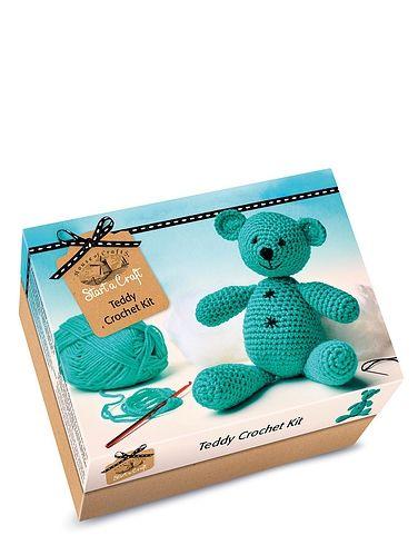 Teddy Crochet Kit