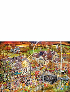 I Love Autumn 1000pcs Jigsaw G7084