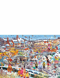I Love Winter 1000pcs Jigsaw G7056
