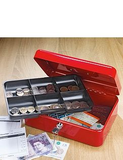 10 Inch Cash Box