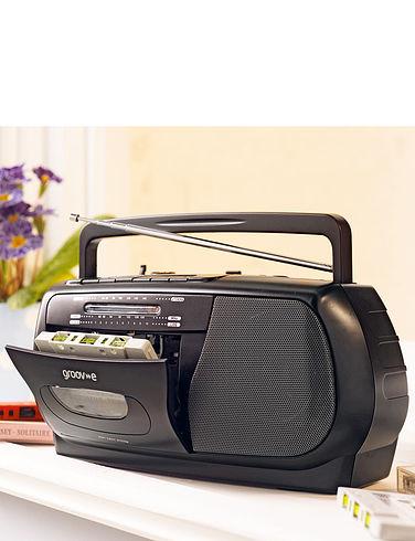 Groove Radio Cassette Player