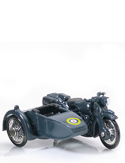 The RAF  Armed Forces Motorcycle and Side Car