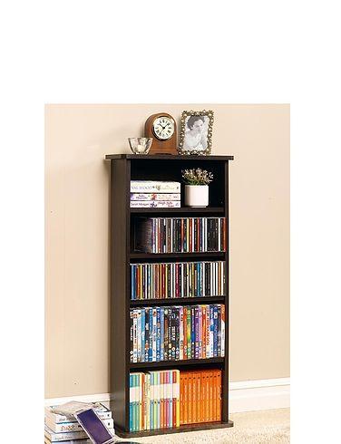 2-In-1  Bookcase And Multi-Media Store