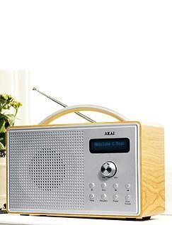 Akai Dab Radio With LCD