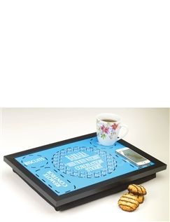 Tea and Biscuits TV Lap Tray