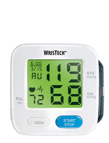 Colour Indicating Blood Pressure Monitor