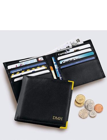Luxury Leather Mens Billfold Wallet