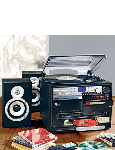 5-IN-1 Music Centre – With Digital Record Facility