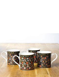 Set of 4 Heritage Mugs
