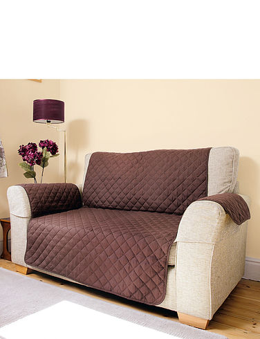 Quilted Reversible 2 Seater Furniture Protector