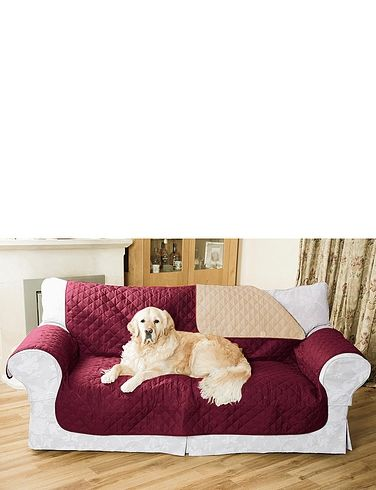 Quilted Reversible 3 Seater Furniture Protector