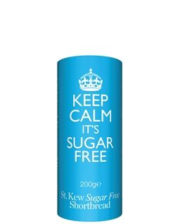 Classic traditional food drink gift ideas chums 200g keep calm sugar free shortbread biscuits offer negle Gallery