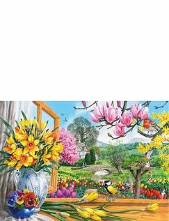 Springtime Splendour Jigsaw