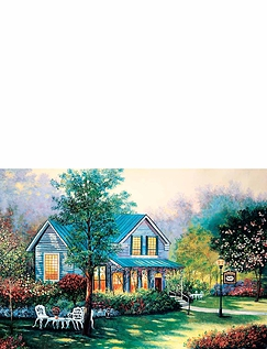 Hideaway House - 4 x 1000 Jigsaw Puzzles
