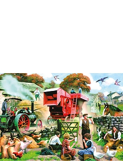 Seasons on the Farm Boxed Set Of 4 X 1000PC Jigsaw Puzzle
