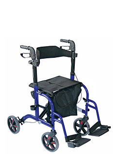 2-in-1 Rollator/ Walker