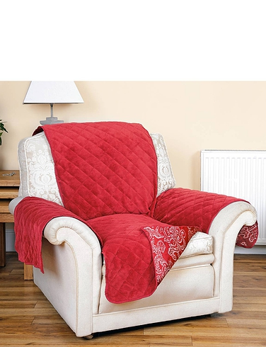 Reversable Quilted Chair Protector