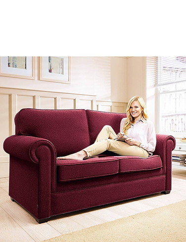 2 Seater Sofa Bed With Pocket Sprung Mattress