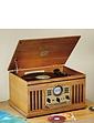 Steepletone Nostalgic Music Centre With DAB Radio