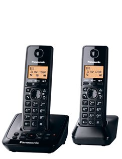 Twin Panasonic Cordless Telephones