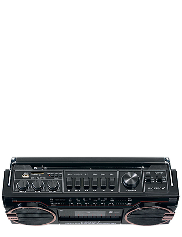 3-In-1 Stereo Radio Cassette Player