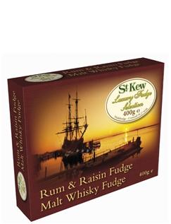 400g Rum and Raisin Fudge