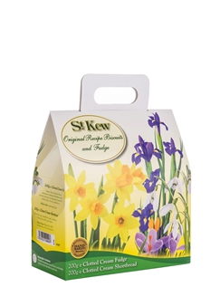 St Kew Spring Flowers Carry Home Case Clotted Cream
