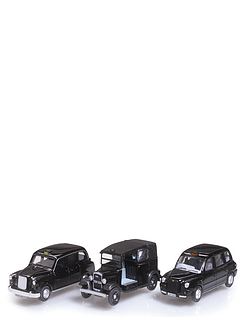 Black Taxi Set - Set of 3