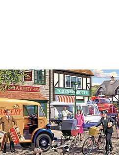 Morning Deliveries - 1000pc Jigsaw Puzzle