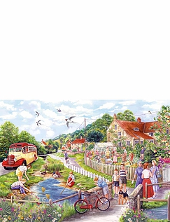 Summer By The Stream 1000Pcs Jigsaw