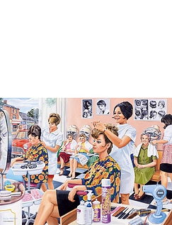 The Hairdresser -  500pc Jigsaw Puzzle