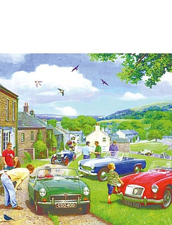 Driving In The Dales - 2 X 500 Jigsaw Puzzles