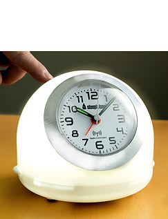 Radio Controlled Touch Light Alarm Clock