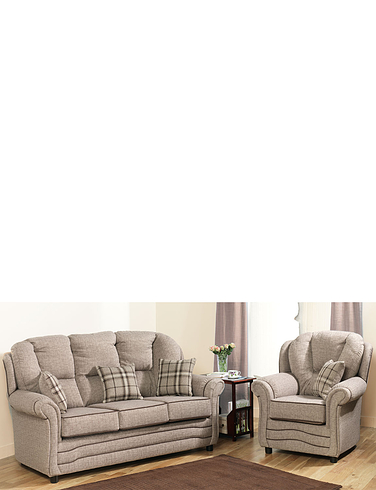 Chadderton Suite - 2 Chairs + 1 x 2 Seater Settee