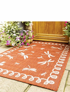 Dragonfly Indoor/Outdoor Flatweave Rug
