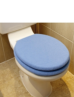 Fleece Seat and Lid Toilet Seat Cover