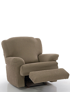 2 Way Easy Fit  Recliner Chair Cover