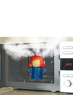 Steaming Stella Microwave Cleaner